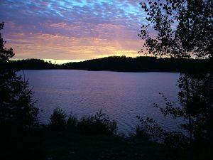 esnagami-lake-ont-sunset